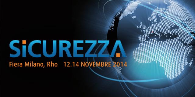 Fiera Sicurezza 12-14th November 2014